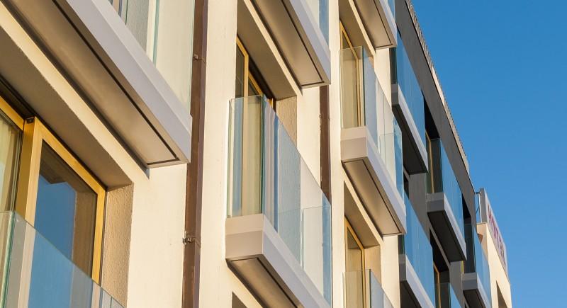 Фасада - Хотел Амирал Варна