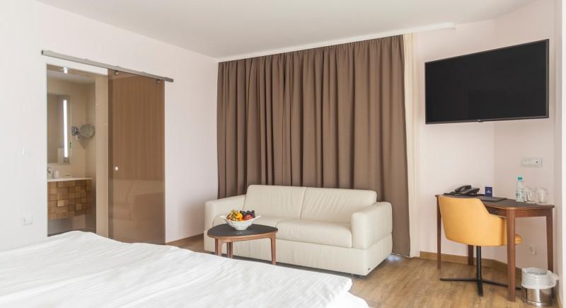 Луксозна Двойна стая - общ изглед и мека мебел