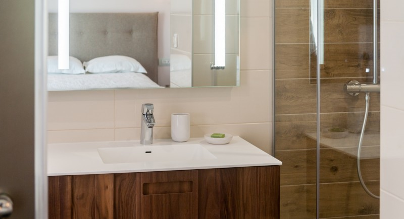 Стандартна единична стая - баня