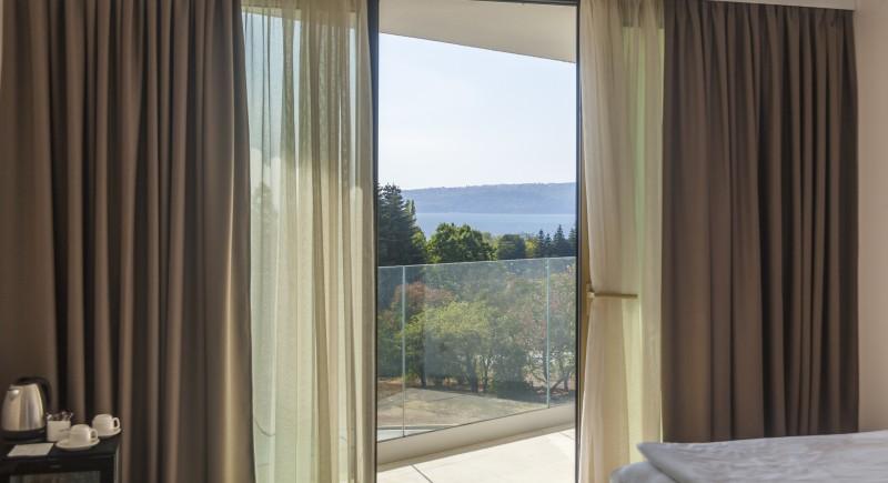 Апартамент - гледка към терасата