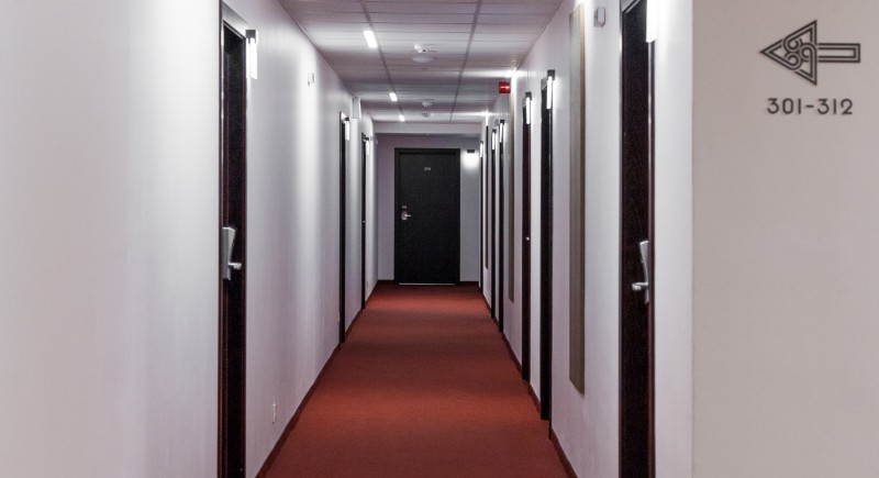 Коридор - хотелски етаж